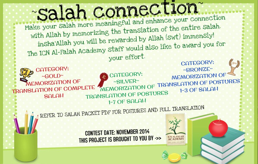 salah connection flyer 2014-15